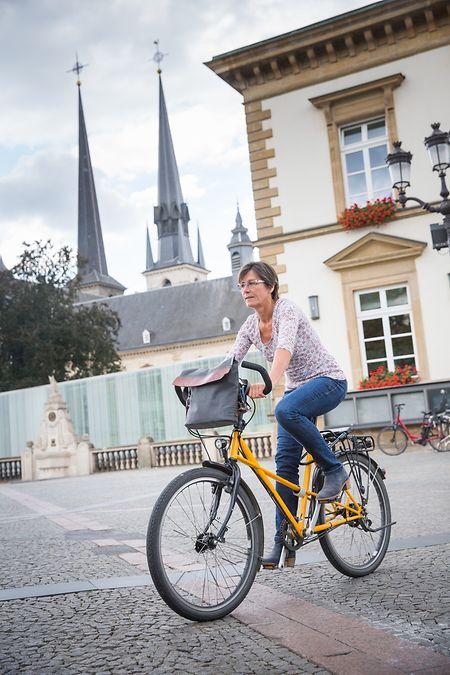 """Monique Goldschmit:""""Den innerstädtischen Radverkehr gibt es offenkundig und der braucht Platz. Und der wird einfach nicht geschaffen."""""""