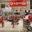 Alleine im Supermarkt: Der LW-Fotograf ging kurz nach der Evakuierung durchs Einkaufszentrum auf dem Kirchberg.
