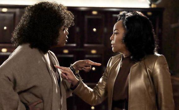 Tante Mavis (Oprah Winfrey) und ihre so gar nicht ähnliche Schwester Lady Mae (rechts, Lynn Whitfield).