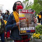 Centenas de colombianos desaparecidos após protestos contra o Governo