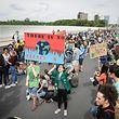 Klimademo Schüler - Kirchberg - Foto: Pierre Matgé/Luxemburger Wort