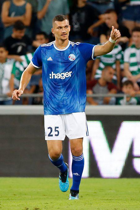 Le FC Metz devra se méfier de Ludovic Ajorque, le grand attaquant strasbourgeois.