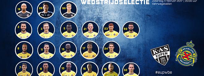 Laurent Jans et Waasland-Beveren se sont imposés 2-0 face à Eupen.