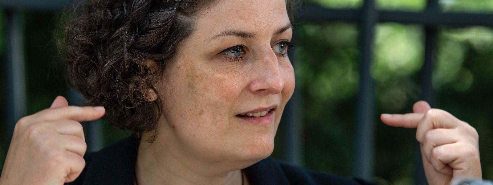 Jeanne Barseghian, première maire écologiste de Strasbourg.