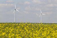 17.05.14 Windpark Heinerscheid,Windraeder,Green Tech..Foto:Gerry Huberty