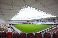 Lokales , Visite du chantier du stade national, Luxembourg, foto: Chris Karaba/Luxemburger Wort