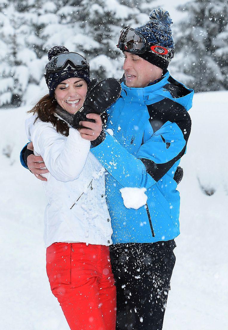 William und Kate machen Urlaub in den Französischen Alpen.