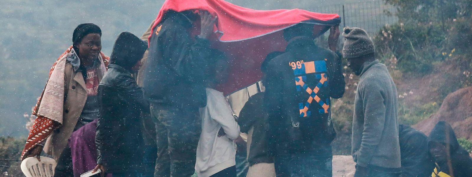 Die Zustände auf den griechischen Inseln sind katastrophal.