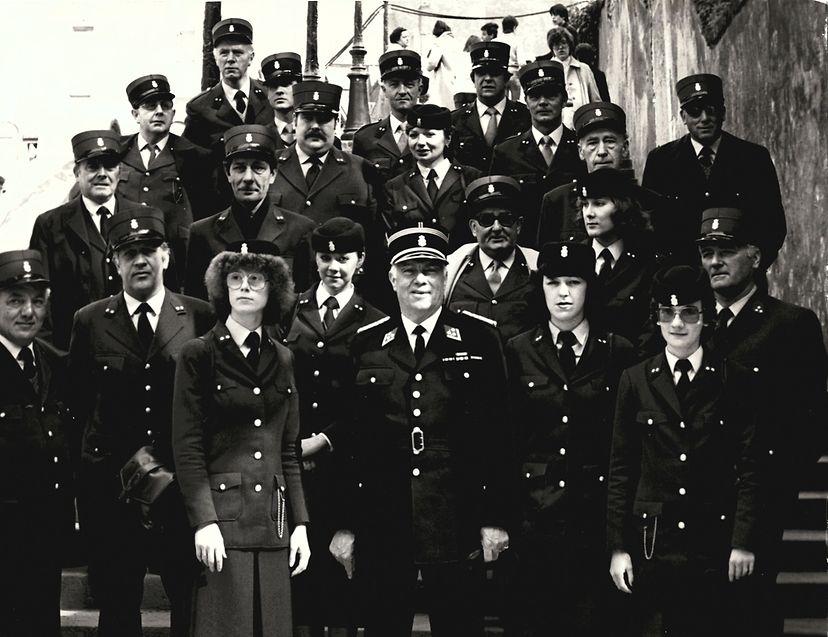 Fototermin während der Oktave 1980.