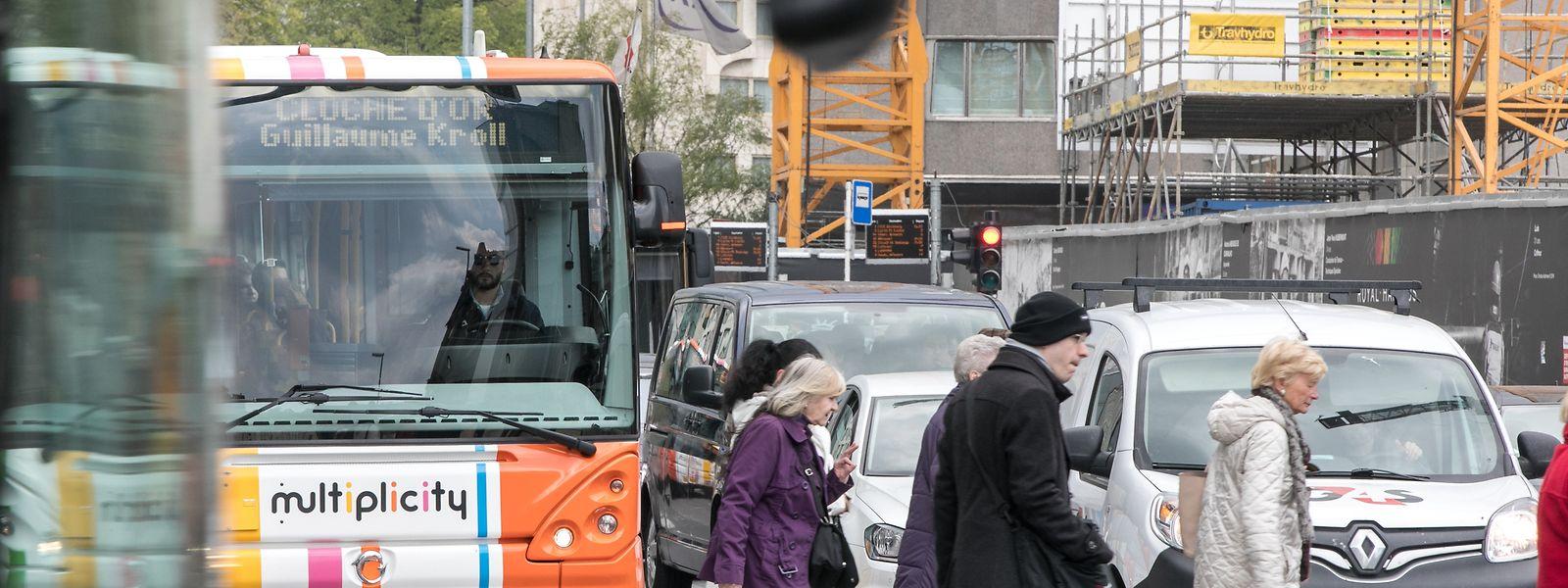 Ein Drittel der Unfälle mit Fußgängern passieren an Fußgängerübergängen.