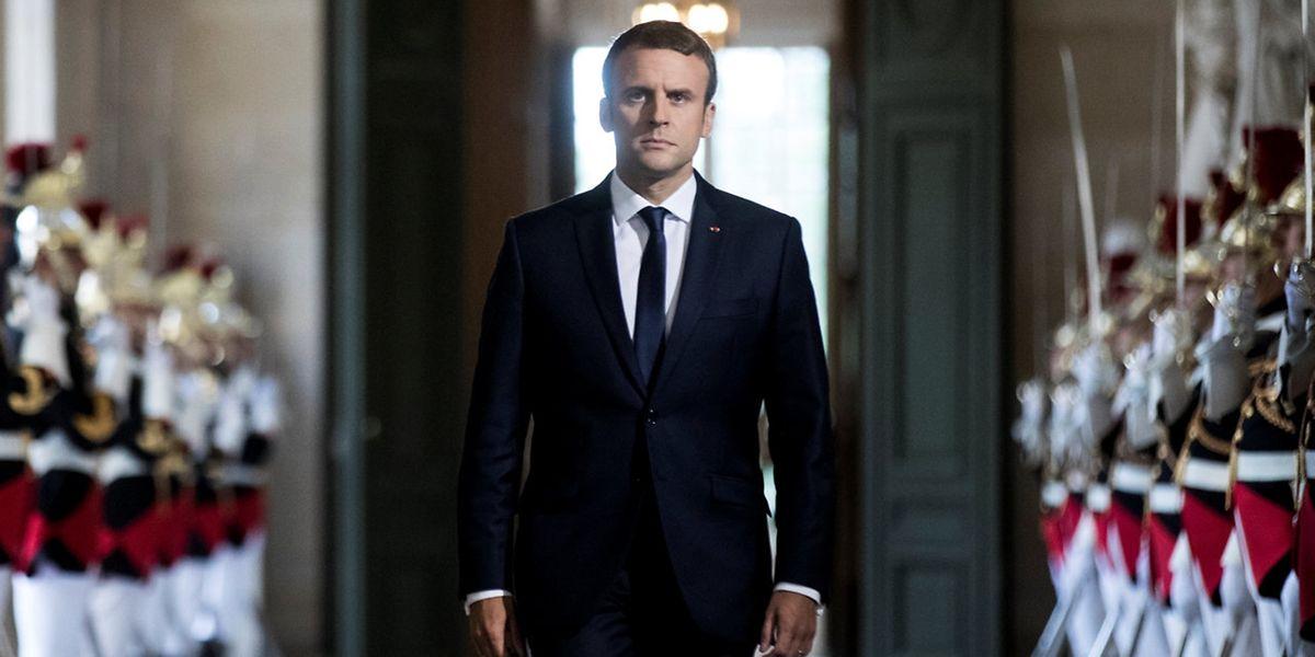 Auftritt in Versailles: Frankreichs Präsident Emmanuel Macron will künftig einmal im Jahr vor beiden Kammern des Parlaments sprechen.