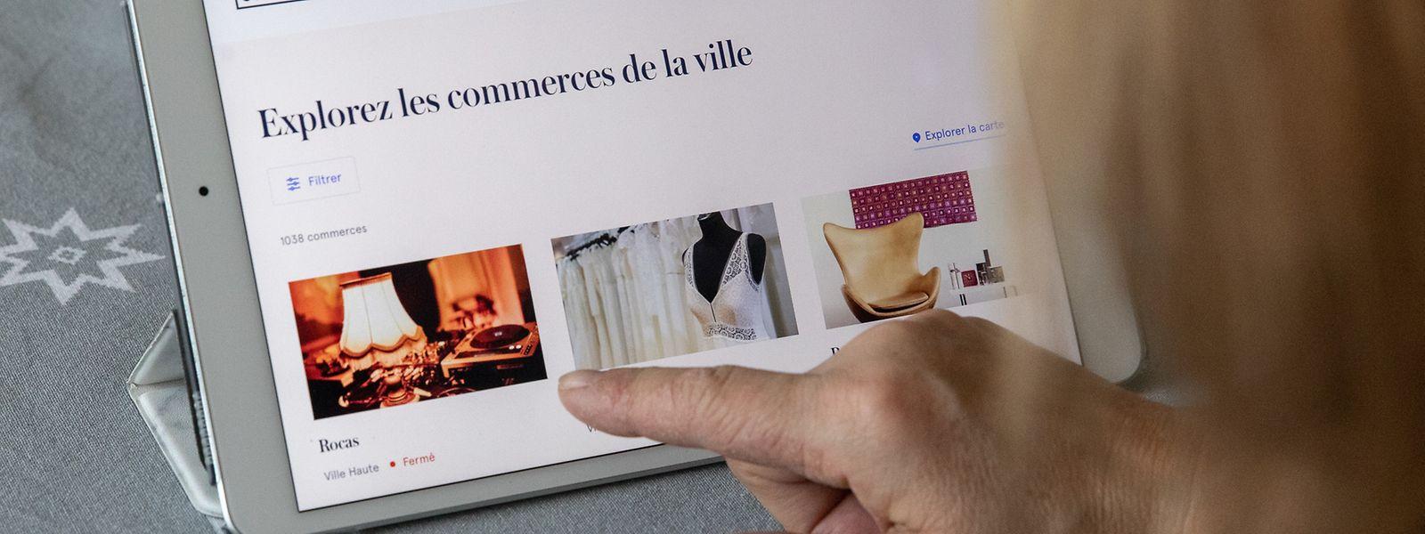 Le site, lancé en 2009, n'a jamais connu autant de boutiques et autres services visibles en ligne.