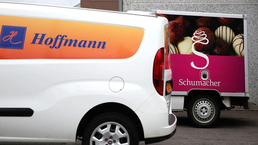 Gehen einen gemeinsamen Weg: Hoffmann und Schumacher.