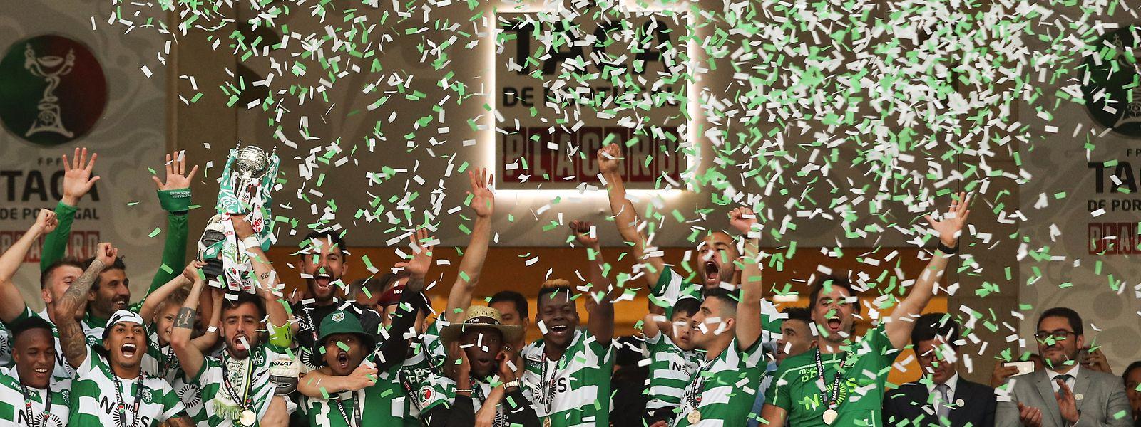 A 17a Taça de Portugal conquistada pelo Sporting.