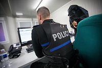 Lokales - Police Patrull op der Fouer - Schueberfouer - Foto: Pierre Matgé/Luxemburger Wort