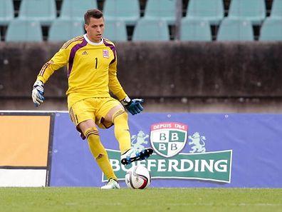 Anthony Moris sollte in den kommenden Partien den Luxemburger Kasten hüten. Nun fällt er aus.