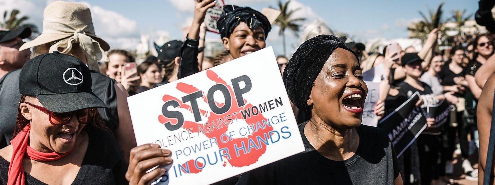 40.000 Vergewaltigungen werden in Südafrika pro Jahr angezeigt - die Dunkelzieffer dürfte deutlich höher liegen.