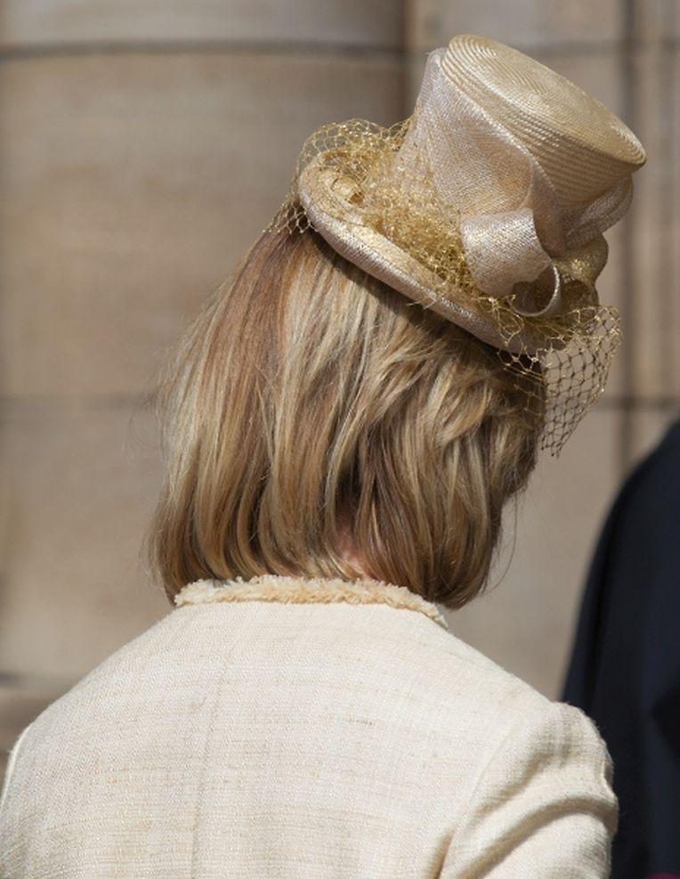 """Nationalfeiertag: Die Hüte, die beim """"Te Deum"""" getragen wurden."""