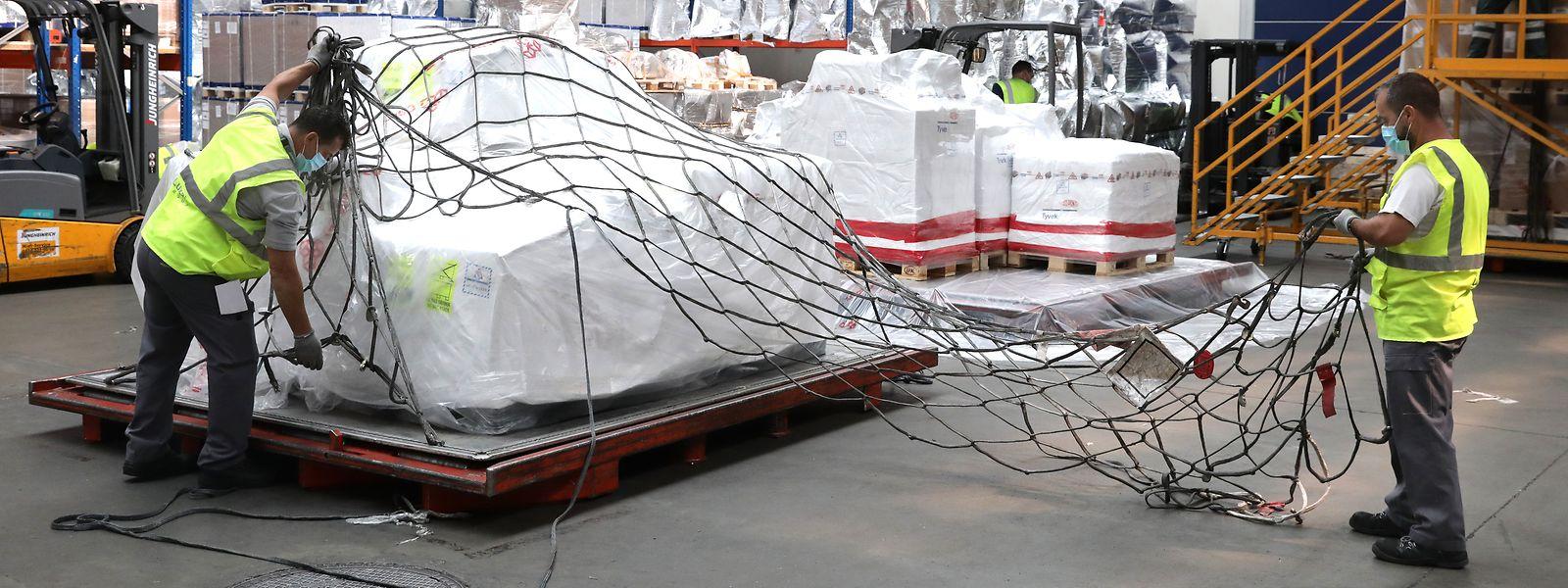LuxairCargo aura manipulé 6% de tonnes de marchandises en plus en 2020 par rapport à 2019.