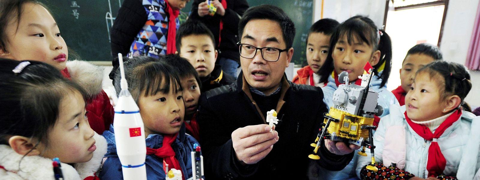Avec Chang'e 5, c'était la troisième fois que la Chine réussissait un alunissage.