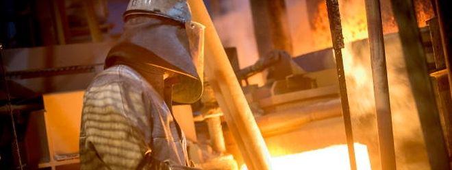 Die Luxemburger Stahlindustrie steht vor einer ungewissen Zukunft.