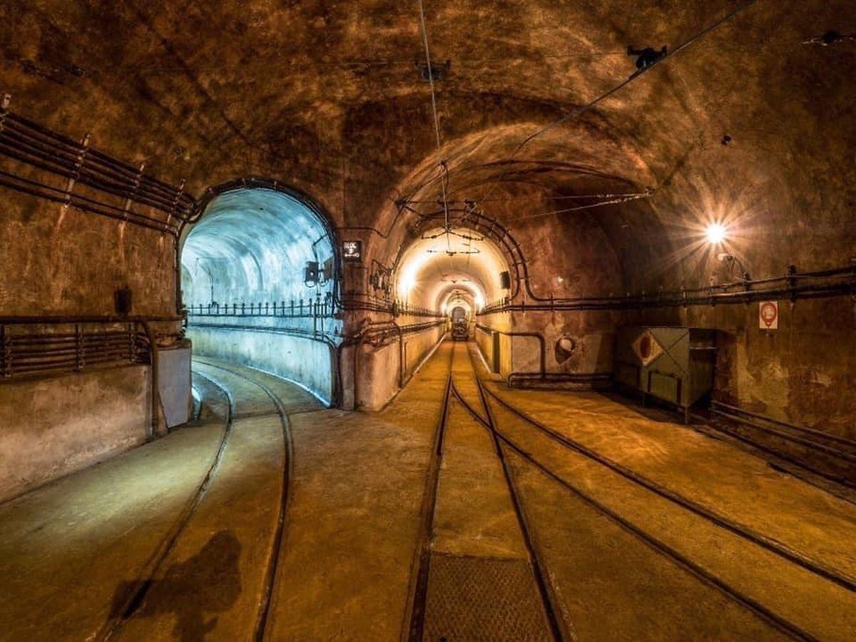 Underground tunnels Photo: Ouvrage du Michelsberg