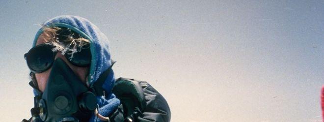 Am 1. Oktober 1992 machte Eugène Berger dieses Foto auf dem höchsten Berg der Welt.