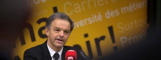 Michel Reckinger von der Handwerkerföderation sparte nicht mit Kritik an der Regierung und machte Druck für mutigere Reformen.