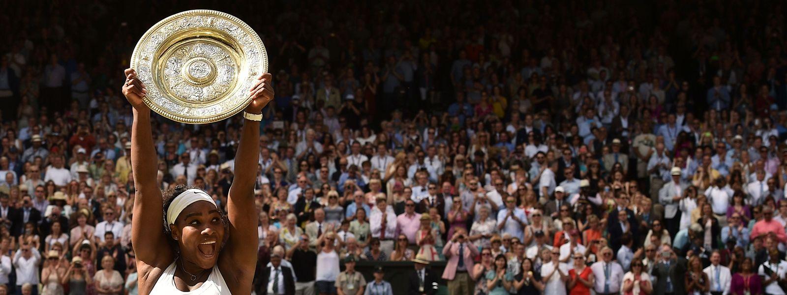 Mais uma vitória para a tenista norte-americana