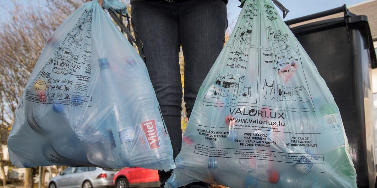 Certains déchets sont collectés