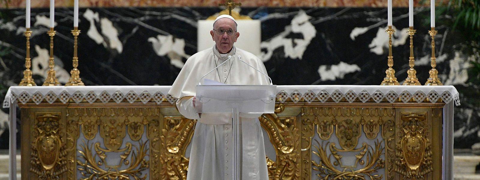 Für den menschenliebenden Papst ist das Osterfest unter Corona-Bedingungen ernüchternd.