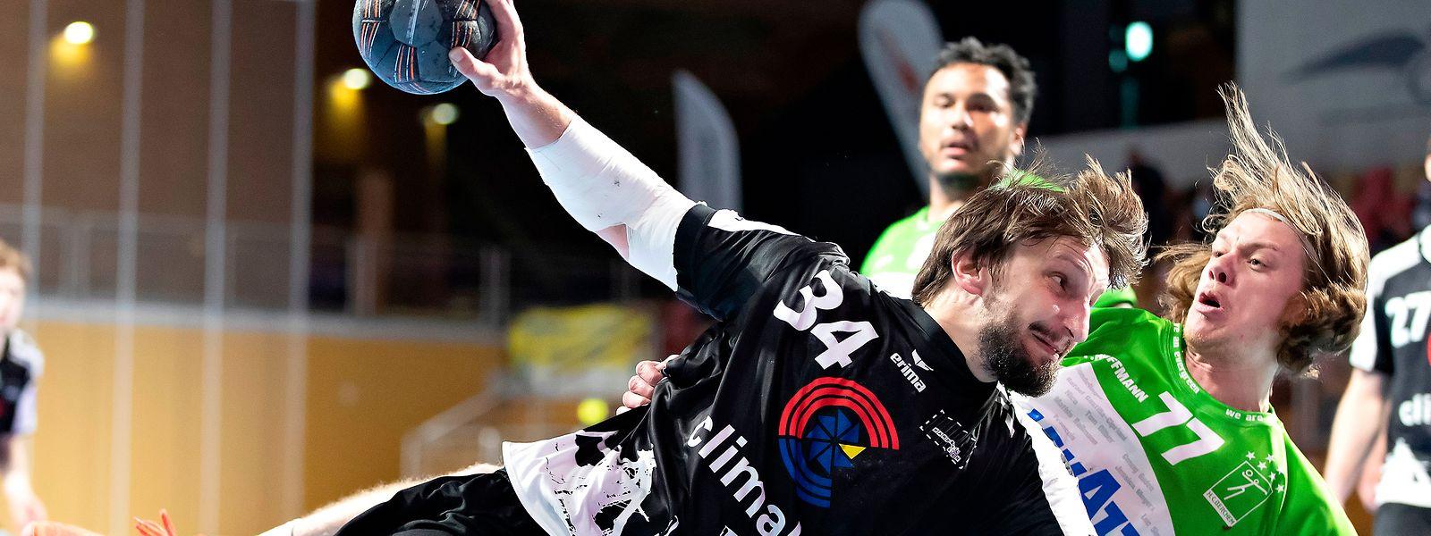 Miha Pucnik (v.) und Yann Hoffmann können erneut ihre Kräfte messen.