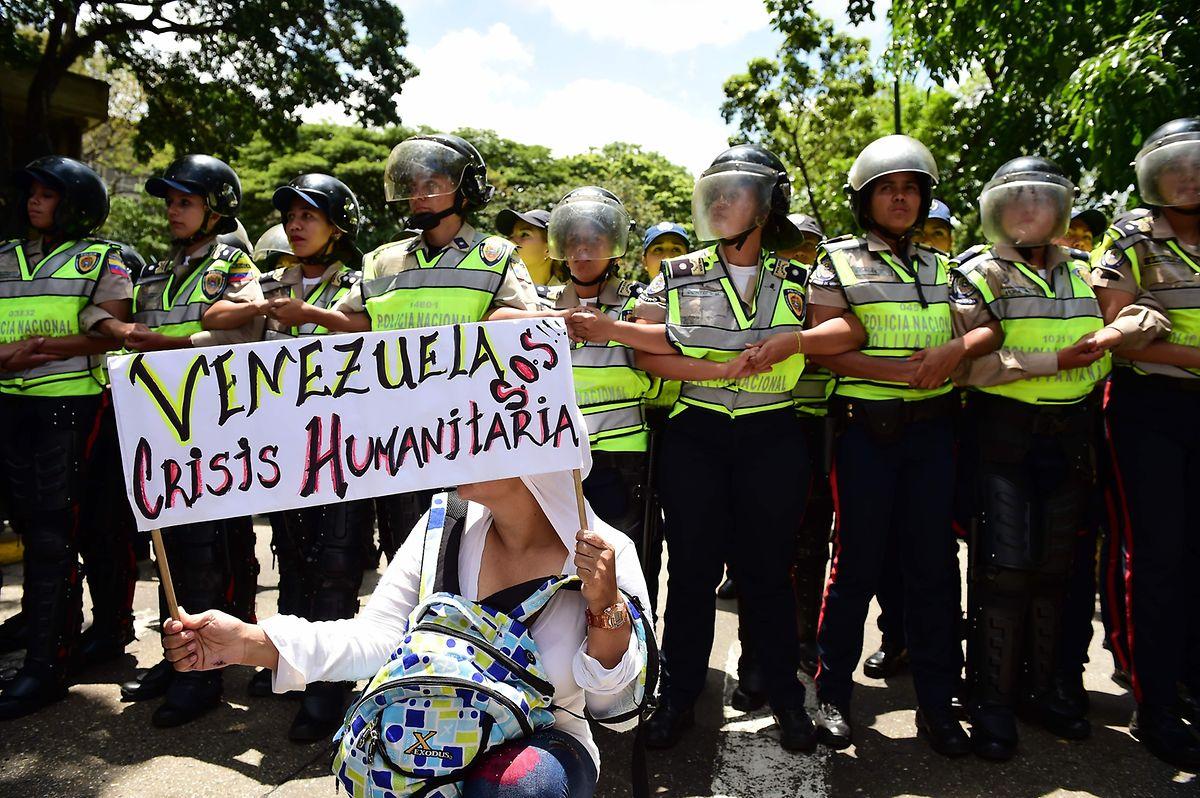 Humanitäre Krise: Das Regime hat das Land derart abgewirtschaftet, dass viele Bürger Venezuelas am Hungertuch nagen.