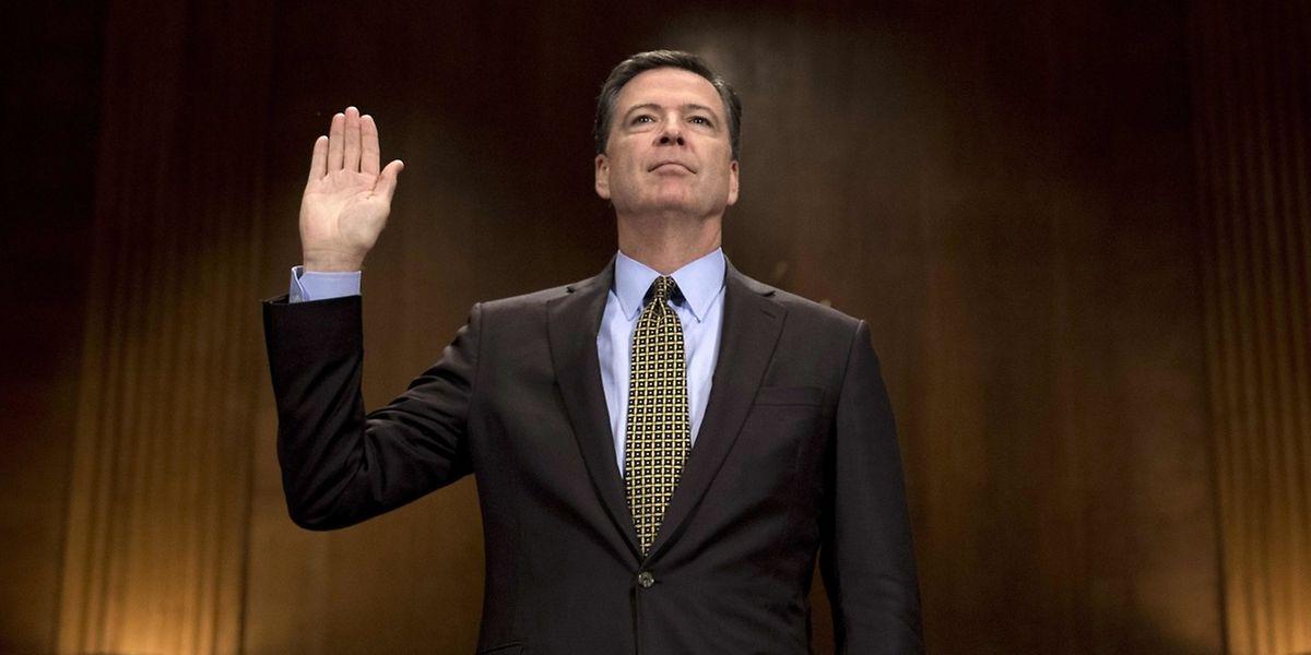 Der ehemalige FBI-Chef James Comey will vor dem Geheimdienstausschuss des Senats aussagen.