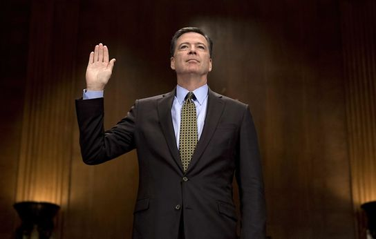 Ousted FBI director James Comey is willing to testify