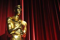 An Oscars statue is seen before the start of the 83rd Annual Academy Awards Nominations Announcement January 25, 2011 in Beverly Hills, California. The 83rd Annual Academy Awards will be held in Hollywood on February 27, 2011.   AFP PHOTO / ROBYN BECK
