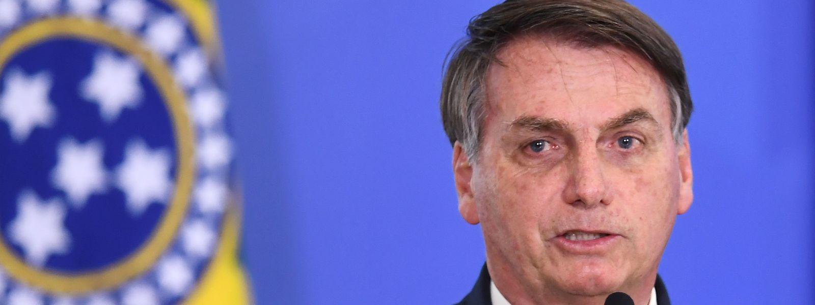 Jair Bolsonaro ist sauer auf seinen ehemaligen Justizminister.
