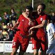 Samir Hadji et  Veldin Muharemovic savourent la qualification du Fola.