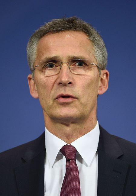 """Stoltenberg betonte, die Nato suche keine Konfrontation mit Russland. """"Der Kalte Krieg ist Geschichte. Wir wollen, dass das so bleibt. Was wir tun, ist maßvoll, verantwortungsbewusst und transparent""""."""