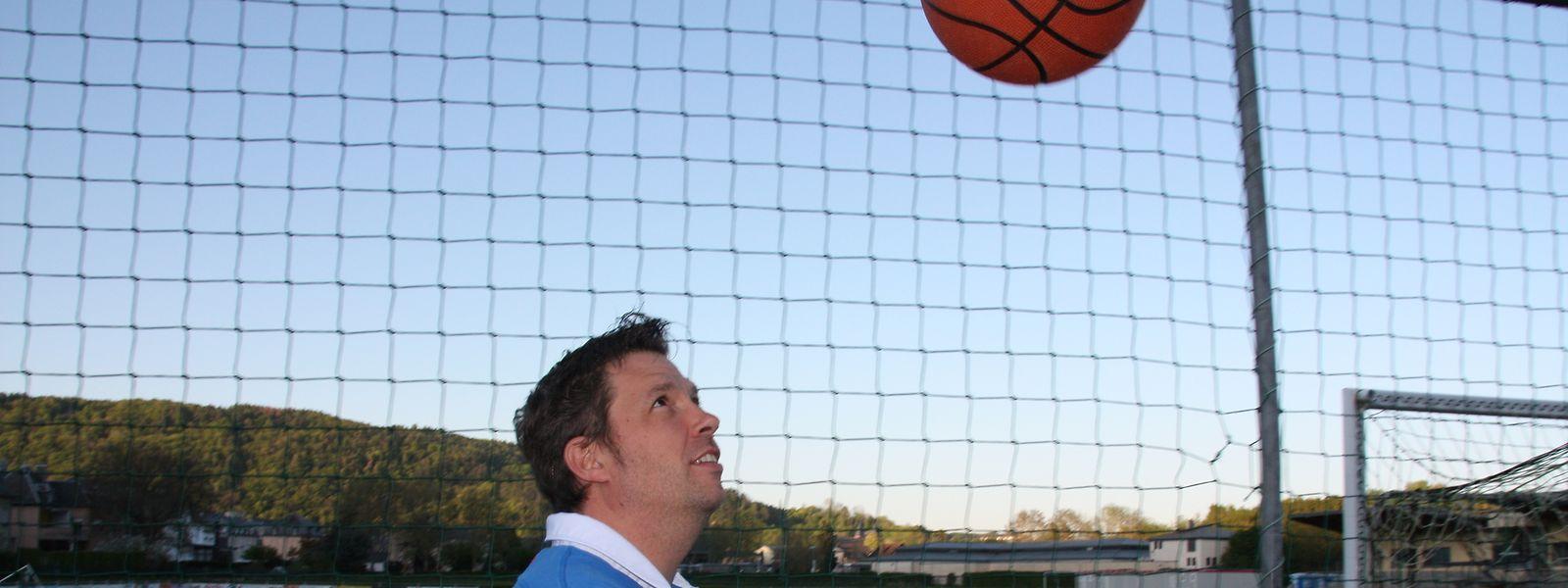 Den Basketball stets im Blick: Christophe Ney freut sich auf seine neue Aufgabe.