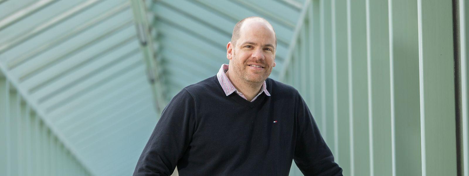 """Massimiliano Esposito, PhD der Naturwissenschaften und Forscher an der Universität Luxemburg, erhält den """"Consolidor Grant""""."""