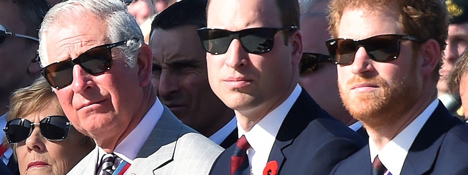 Prinz Charles ist bei der britischen Bevölkerung weit weniger beliebt als seine Söhne William und Harry.