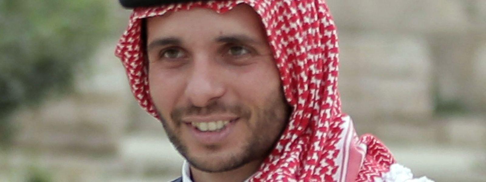 Prinz Hamsa bin Hussein ist offenbar bei seinem Halbbruder, König Abdullah II., in Ungnade gefallen.
