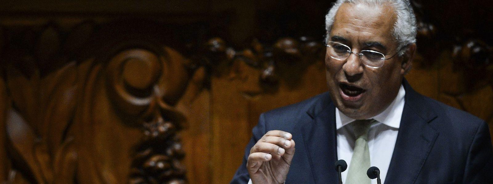O primeiro-ministro português, António Costa