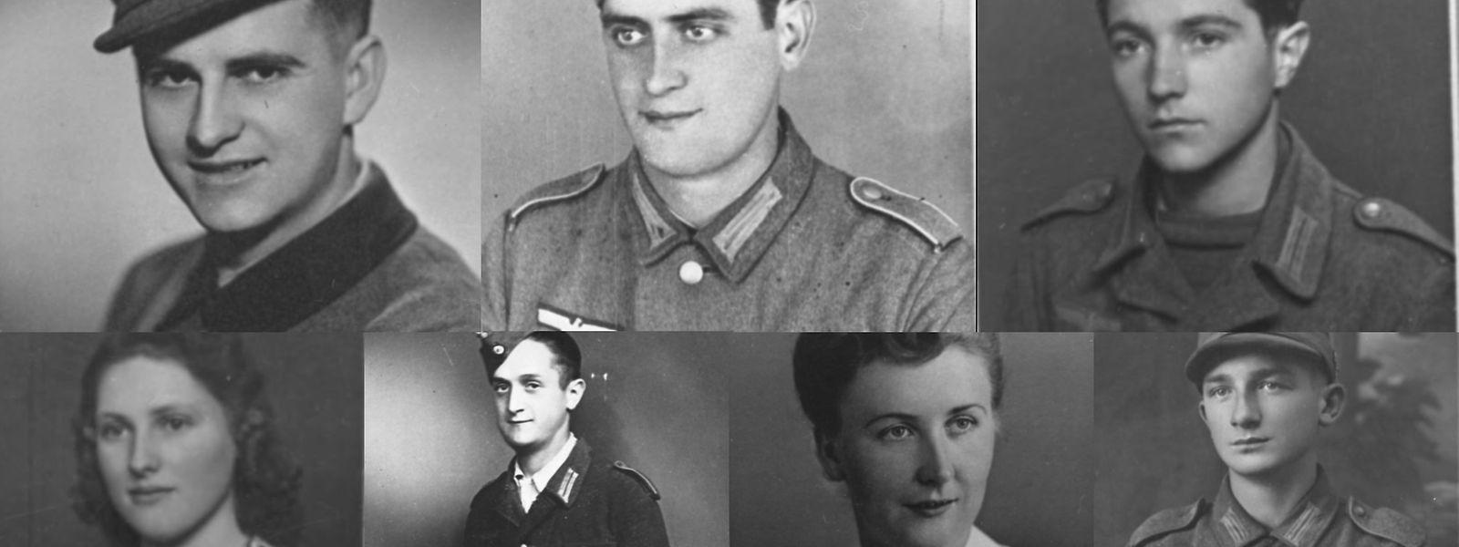 Das Logo des Warlux-Projektes enthält Bilder von Personen aus Luxemburg, die während des Zweiten Weltkriegs gestorben sind. Diese Menschen stehen exemplarisch für individuelle Lebensgeschichten.