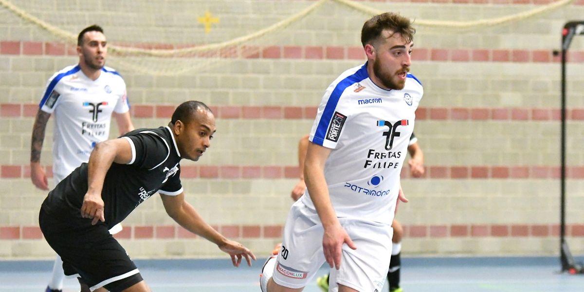 Miguel Pereira et l'US Esch ont souffert pour battre Adilson de Pina et le FC Nordstad.