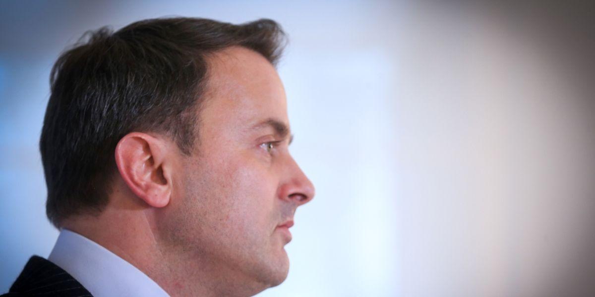 Premier Xavier Bettel übernimmt das Kulturministerium