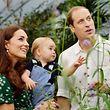 Kate und William freuen sich auf den Nachwuchs. Prinz George findet derweil Schmetterlinge faszinierend.