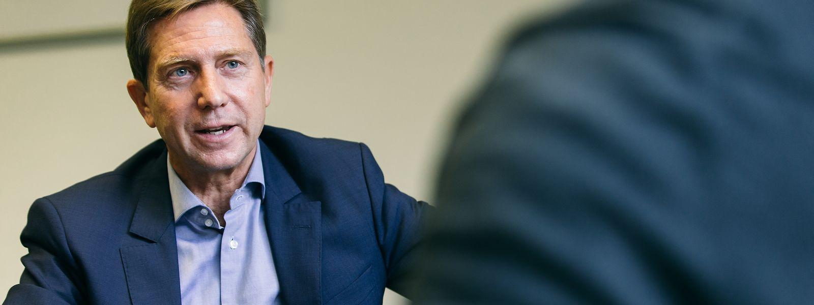 """Der Jurist und Finanzmanager David Arendt hob einst den Freeport aus der Taufe, heute ist er als Partner von """"The Directors Office"""" unabhängiger Unternehmensdirektor."""