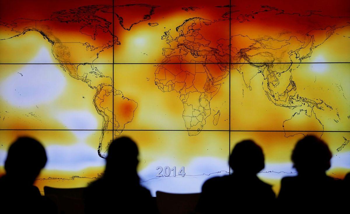 Die Klimaerwärmung war im Fokus des Abkommens von 2015.